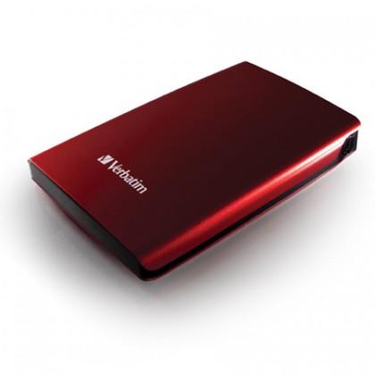 320GB Внешний HDD 2.5'' Verbatim Store 'n' Go красный