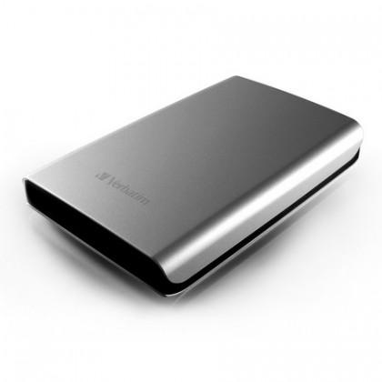 640GB Внешний HDD 2.5'' Verbatim Store 'n' Go серебристый