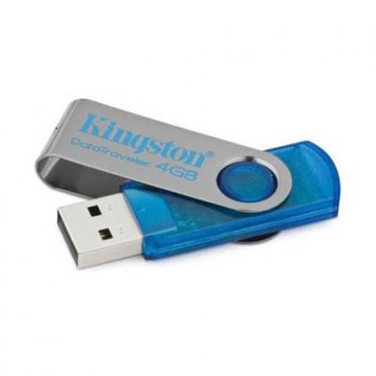 4Gb Kingston флеш-диск DT101C Blue