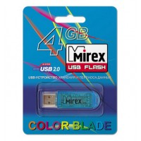 4GB USB флэш-диск MIREX Blue Elf