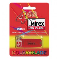 4GB USB флэш-диск MIREX Chromatic Red