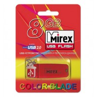 8GB USB флэш-диск MIREX Chromatic Red