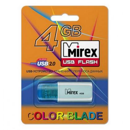 4GB USB флэш-диск MIREX Click Blue
