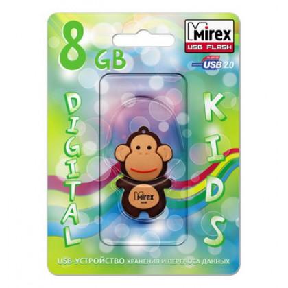 8GB USB флэш-диск MIREX Monkey Brown в виде игрушки