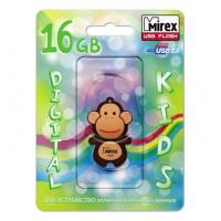 16GB USB флэш-диск MIREX Monkey Brown в виде игрушки