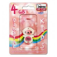 4GB USB флэш-диск MIREX Sheep Pink в виде игрушки