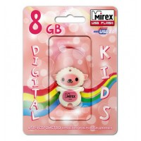 8GB USB флэш-диск MIREX Sheep Pink в виде игрушки