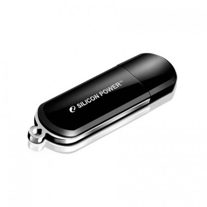 2GB Silicon Power флеш-диск LuxMini 322 Black