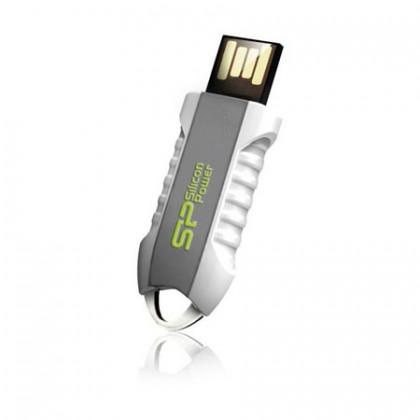 4GB Silicon Power флеш-диск UNIQUE 530 White