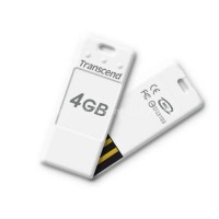 4GB флеш-диск JetFlash T3 Transcend белый