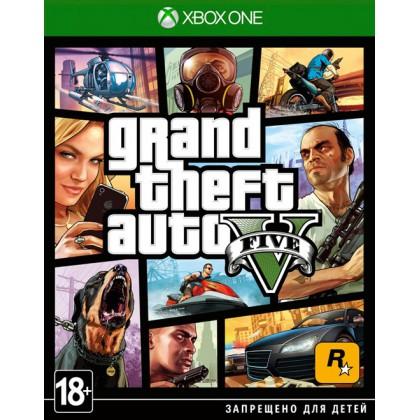 GTA5 Grand Theft Auto 5 (Xbox ONE) Русские субтитры