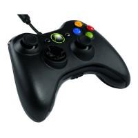 Геймпад проводной (Xbox 360, PC) черный