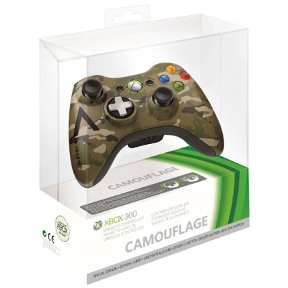 Геймпад беспроводной (Xbox 360) Camouflage