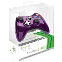 Геймпад беспроводной (Xbox 360) Chrome Purple
