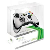 Геймпад беспроводной (Xbox 360) Chrome Silver