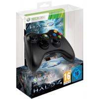 Геймпад беспроводной + Halo 4 (Xbox 360)