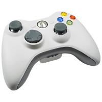Геймпад беспроводной (Xbox 360) белый