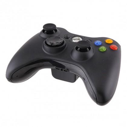 Геймпад беспроводной (Xbox 360) черный