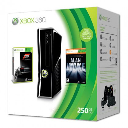 Игровая приставка Xbox 360 250GB + Alan Wake + Forza Motosport 3