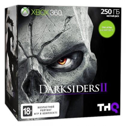 Игровая приставка Xbox 360 250GB + Darksiders 2 + Forza 4 + Ведьмак 2