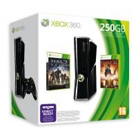 Игровая приставка Xbox 360 250GB + Halo: Reach + Fable 3