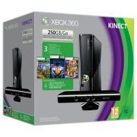 Игровая приставка Xbox 360 250GB + Kinect + Fable 4..