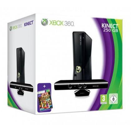 Игровая приставка Xbox 360 250GB + сенсор Kinect