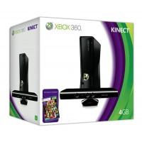 Игровая приставка Xbox 360 4GB + сенсор Kinect