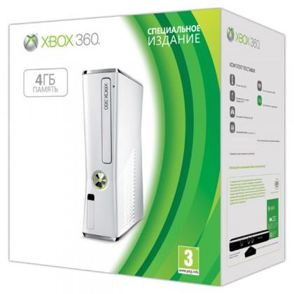 Игровая приставка Xbox 360 4GB White