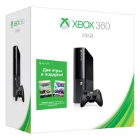 Игровая приставка Xbox 360E 250GB + The MAW + AQUA