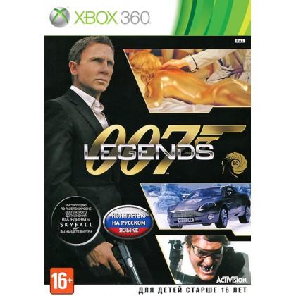 007 Legends (Xbox 360) Русская версия