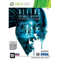 Aliens Colonial Marines Limited Edition (Xbox 360) Русская..