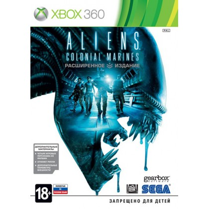 Aliens Colonial Marines Limited Edition (Xbox 360) Русская версия