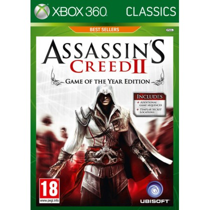 Assassin's Creed 2 Game of Year Edition (Xbox 360) Русская версия