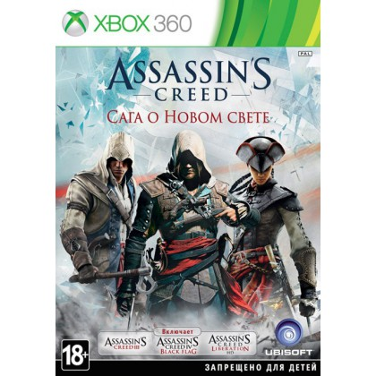 Assassins Creed: Americas Collection - Сага о Новом свете (Xbox 360) Русская версия