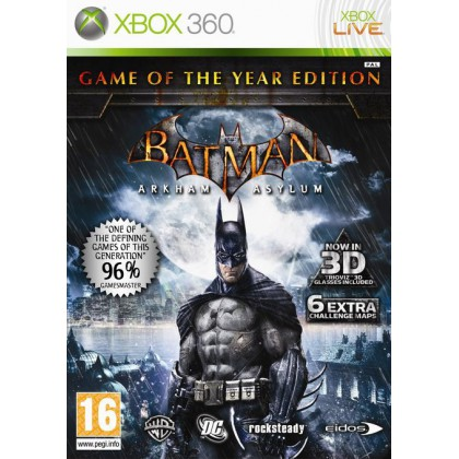 Batman: Arkham Asylum Game of the Year Edition (Xbox 360)