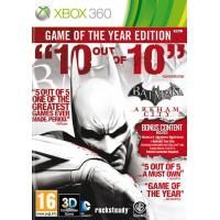 Batman: Arkham City Game of the Year (Xbox 360) Русские суб..