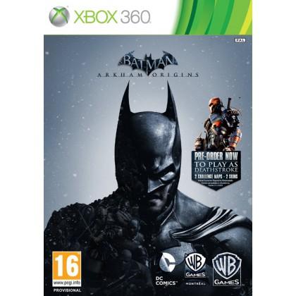 Batman: Arkham Origins - Бэтмен: Летопись Аркхема (Xbox 360) Русские субтитры