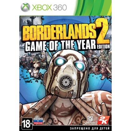 Borderlands 2 Game of Year Edition (Xbox 360)