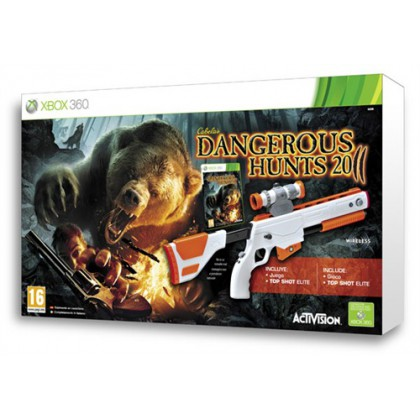Cabela's Dangerous Hunts 2011 (Xbox 360) Игра + ружье