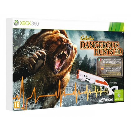 Cabela's Dangerous Hunts 2013 (Xbox 360) Игра + ружье