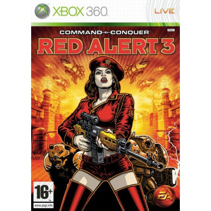 Command & Conquer: Red Alert 3 (Xbox 360) Русская версия
