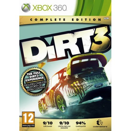 DiRT3: Complete Edition Полное издание (Xbox 360)