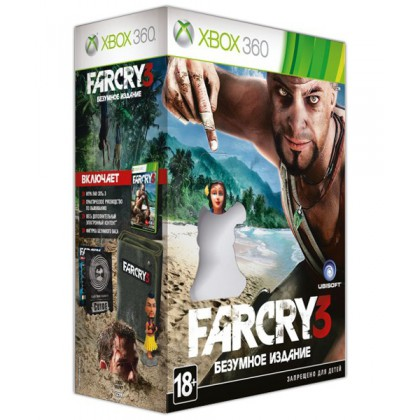 Far Cry 3 Безумное коллекционное издание (Xbox 360) Русская версия