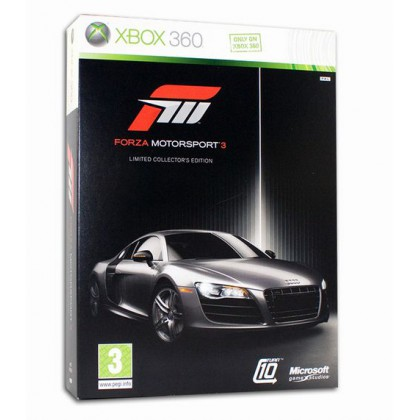 Forza Motorsport 3 Limited Edition (Xbox 360) Русские субтитры