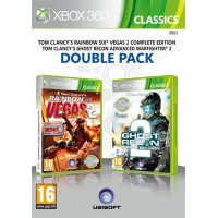 Ghost Recon Advanced Warfighter 2 Rainbow Six Vegas 2 (Xbox 360)