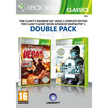 Ghost Recon: Advanced Warfighter 2 & Rainbow Six Vegas 2 Double Pack (Xbox 360)
