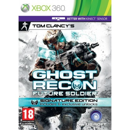 Tom Clancy's Ghost Recon Future Soldier Signature Edition (Xbox 360) Русская версия