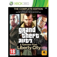 Grand Theft Auto 4 Complete Edition (Xbox 360)