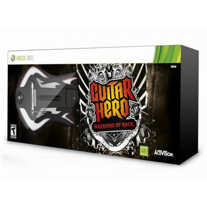 Guitar Hero: Warriors of Rock (Xbox 360) Игра + Гитара